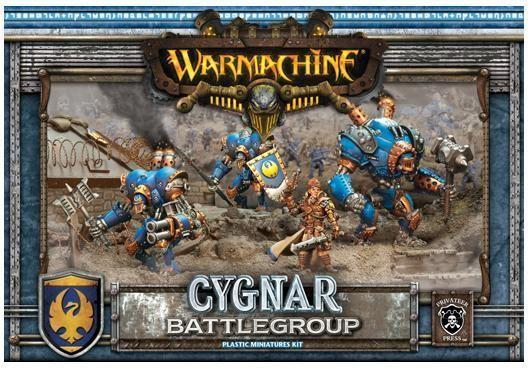 Cygnar Battlegroup - Warmachine - Privateer Press