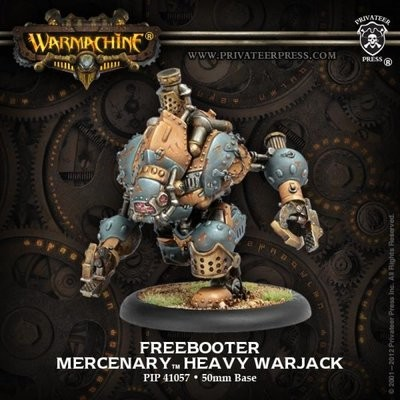 Mercenary Freebooter Heavy Warjack Box Söldner - Warmachine - Privateer Press