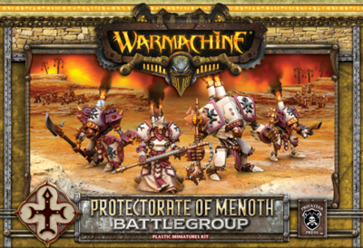 Protectorate of Menoth Battlegroup Box (plastic) - Starter - Warmachine - Privateer Press