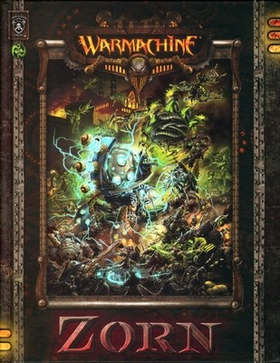 Warmachine: Zorn (Hardcover - Wrath dt.) - Warmachine - Privateer Press