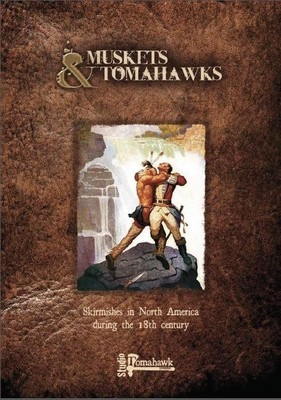Regelbuch (und Spielkarten) - Muskets and Tomahawks - North Star Figures