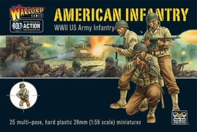 WWII American - US Infantry (25) - American - Bolt Action