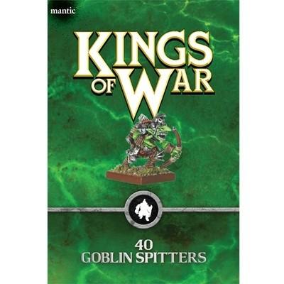 Goblin Spitters Horde - Goblin - Kings of War - Mantic Games
