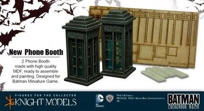 Phone Booth Telefonkabine - Batman Miniature Game