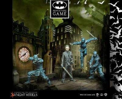 Ras Al Ghul & League of Shadows - Batman Miniature Game