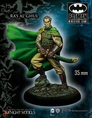 Ras Al Ghul Arkham City - Batman Miniature Game