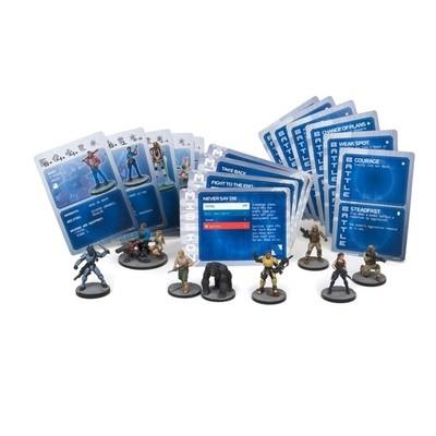 Deadzone MA Human Faction Deck - Spielkarten - Mantic Games