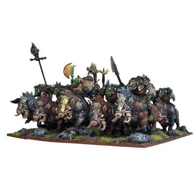 Orc Gore Riders - Orks - Kings of War - Mantic Games