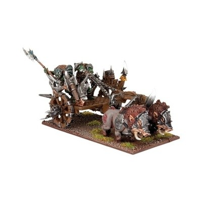 Orc Gore Chariot - Orks - Kings of War - Mantic Games
