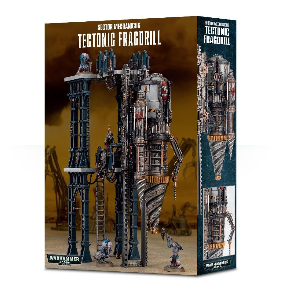 Tectonic Fragdrill - Genestealer Cults - Warhammer 40.000 - Games Workshop