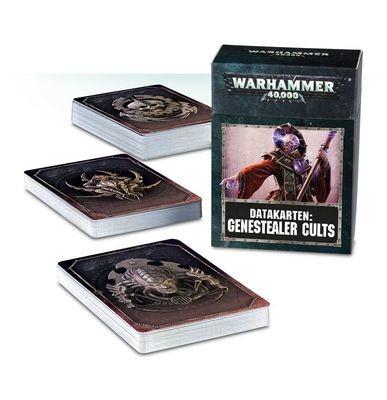 Datacards: Genestealer Cults (Englisch) - Warhammer 40.000 - Games Workshop