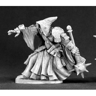 Deckard Death Priest - Dark Heaven Legends - Reaper Miniatures