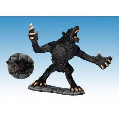 Werewolf (+ Severed Wolf Head) - Frostgrave - Northstar Figures