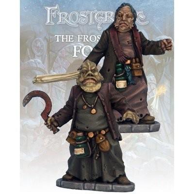 Beastcrafter and Apprentice II (2) - Frostgrave - Northstar Figures