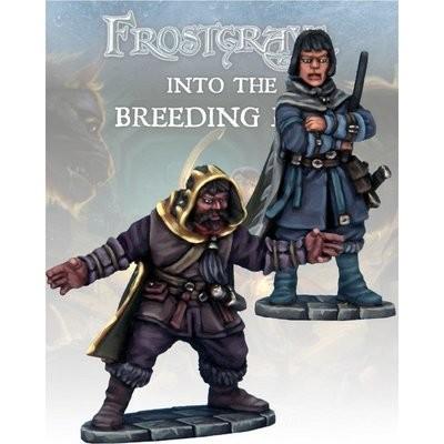 Elementalist & Apprentice II - Frostgrave - Northstar Figures