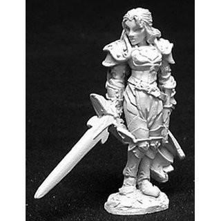 Alaine, Fem Paladin - Reaper Miniatures