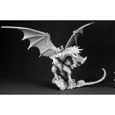 Red Dragon - Pathfinder Miniatures - Reaper Miniatures