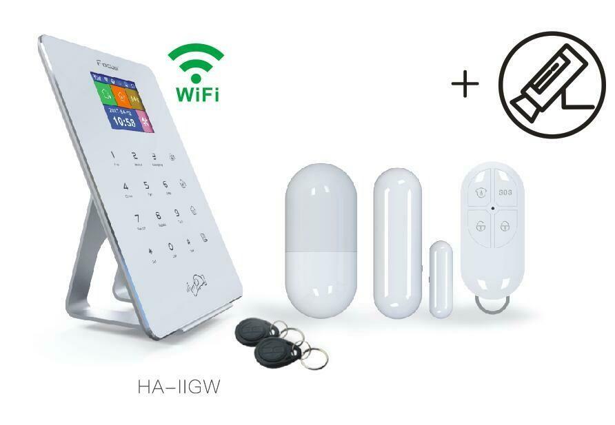 Focus 2 English voice Smart Alarm system (Wall mount version)