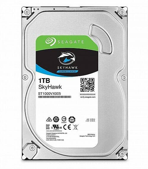 Hard Disc Drive 1TB, 2TB or 4TB video storage