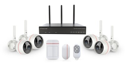 Installed for you Alarm system + CCTV - up to 9 channels.
