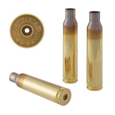 Peterson 9.5 x 77 (.375 CheyTac®) Select - Box of 50 Brass Rifle Casings
