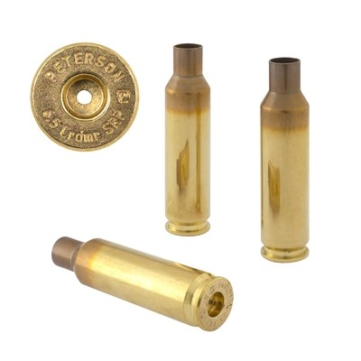 Peterson 6.5 Crdmr SRP Select - Box of 50 Brass Rifle Casings