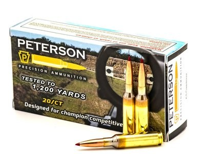 Peterson 6.5 Creedmoor 140gr Hornady ELDM - Box of 20
