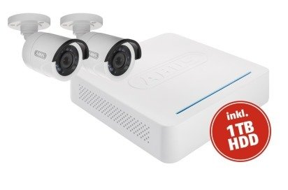 ABUS Analoog HD Videobewaking Complete set 5-kanaals Hybride