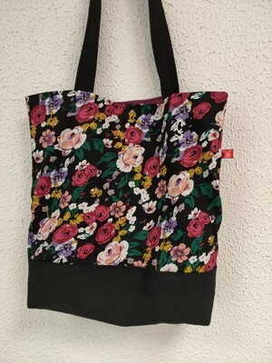 sac modèle Camille fleur de printemps