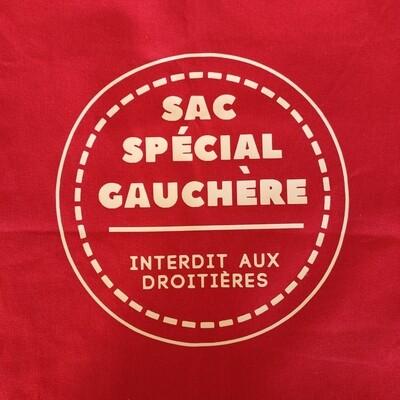 tote bag sac spéciale gauchère