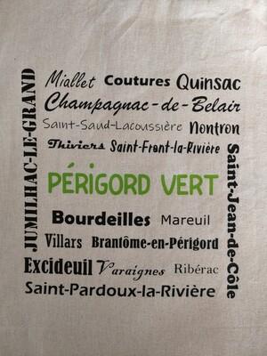 tote bag villages du Périgord vert