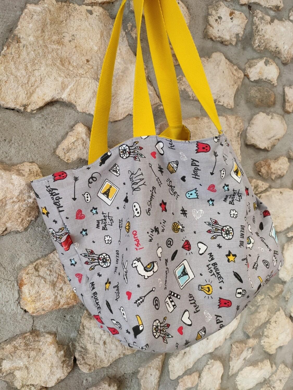 Mini sac cabas teen