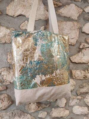 sac modèle Camille doré réversible