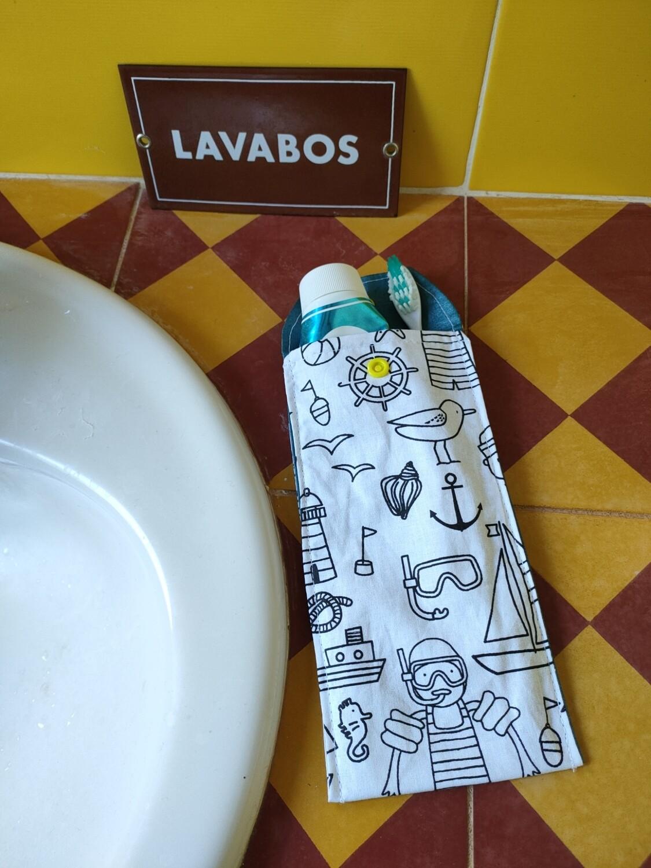 Protège brosse à dents et dentifrice vacances
