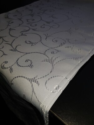 Napron 30x240 cm brocart gri