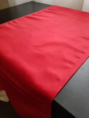 Taversa masa 30x130 cm , brocart rosu