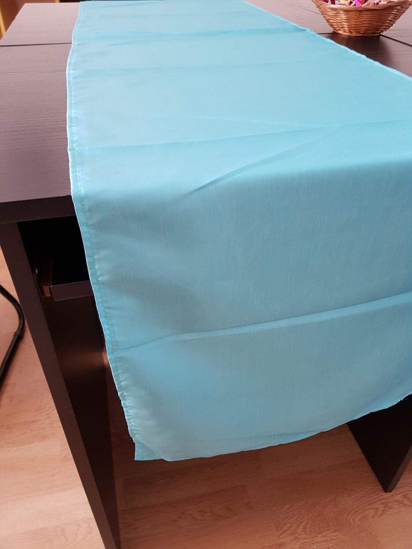 Napron tafta 45x200cm tafta albastru turcoaz