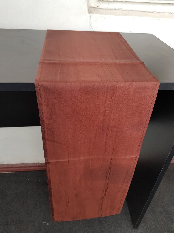 Traversa 24x245 cm, tafta maro