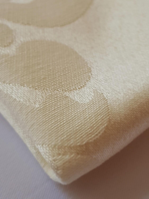 Servet damasc ivory 30x30 cm