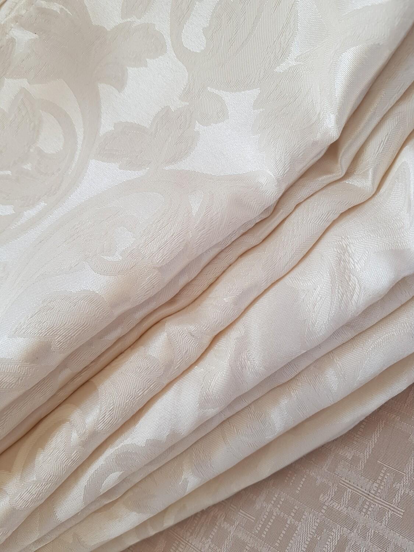 Servet brocart sara ivory crem 40x40  cm