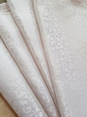 Servet brocart alb 35x35 cm