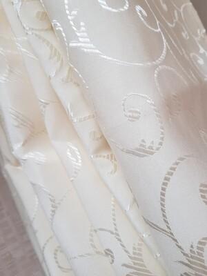 Servet brocart ivory galbui 40x40 cm