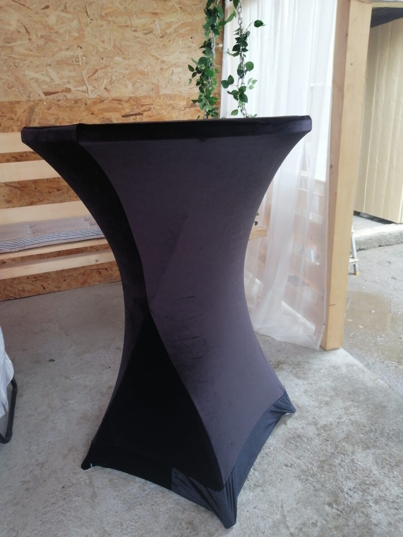Husa masa stand-up - catifea
