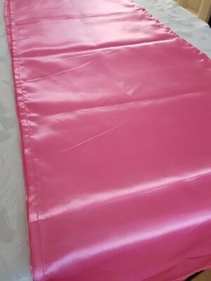 Napron 30x200 cm satin roz