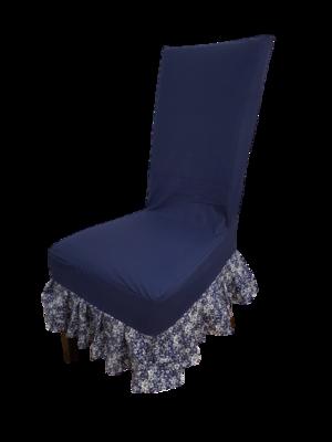 Husa fixa pentru scaun realizata din bumbac