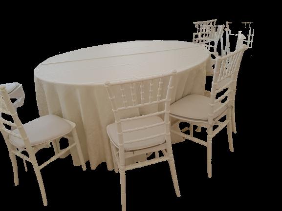 Feţe de masă brocart (100% poliester) model cerculete/ melci