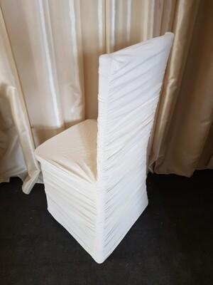Husa elastica pentru scaun ( culoare unt)