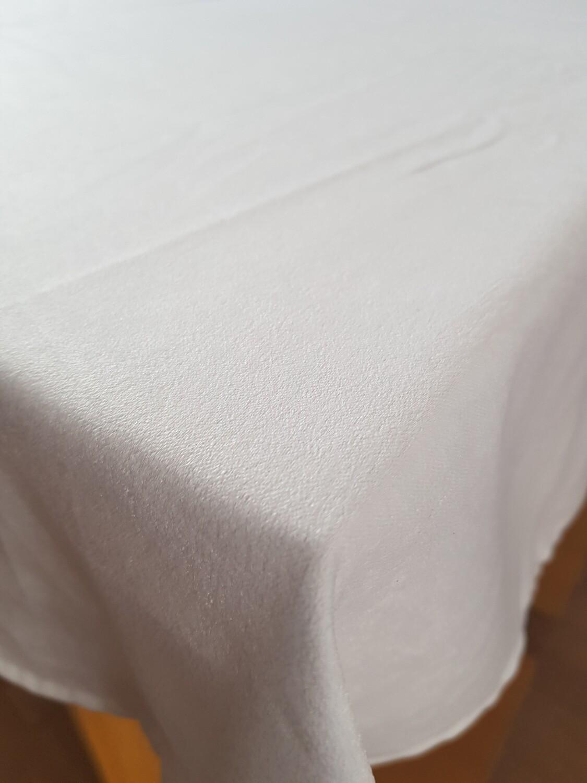 Fata masa 130x200 cm soft alb