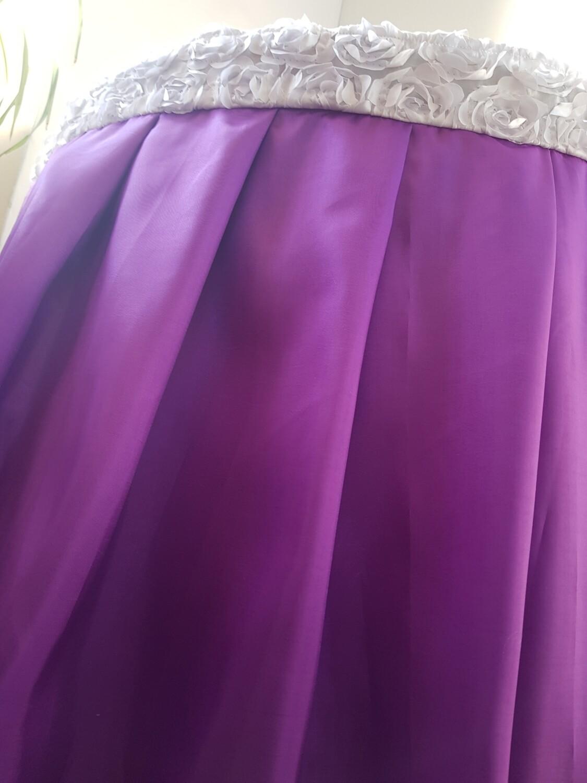 Fusta masa tafta violet - L510 cm
