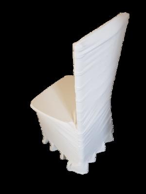Husa scaun model serendipity - ivory